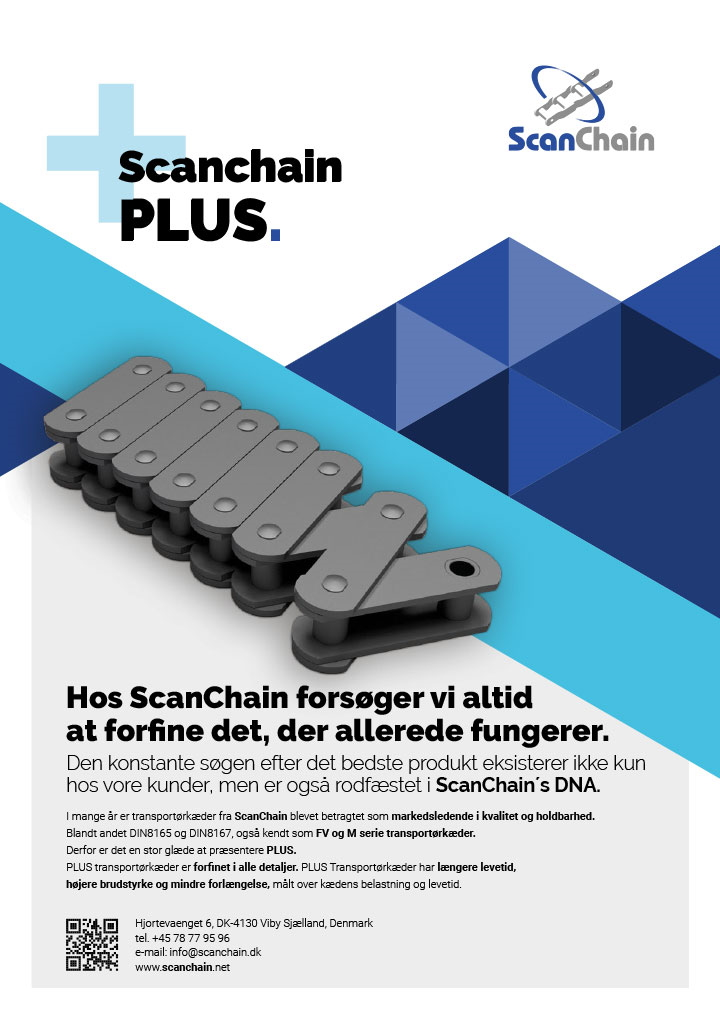 ScanChain PLUS danish flyer