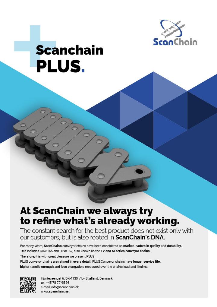 ScanChain PLUS english flyer