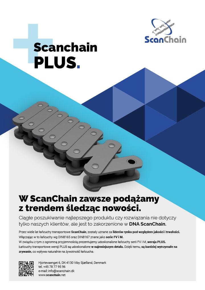 ScanChain PLUS polish flyer