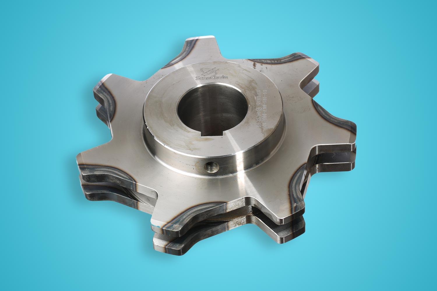 Sprockets for drop forged chains